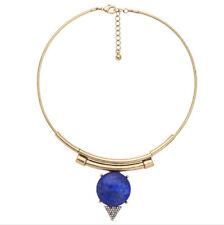 MARNI H&M Blue Geometric Necklace
