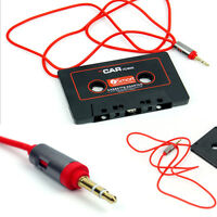 3.5mm Jack AUX For MP3/4 iPod Phone CD Car Audio Stereo Tape Cassette Adapter