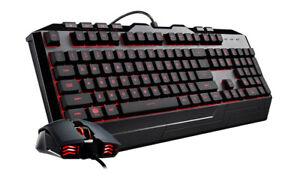 COOLER MASTER Gaming Combo Devastator 3 Keyboard Mouse RGB Backlight USB Wired