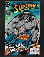 Superman Man of Steel #4 DC Comics 1991 NM