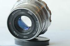Industar-26M 2.8/52mm Vintage Old Soviet Russian Lens M39 Leica  I-26M