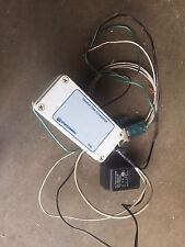 """Ultrasonic Flowmeter OMEGA DYNASONIC FDT33 - measuring flow in 1"""" steel pipe"""