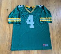 Vintage Green Bay Packers Brett Favre Nike Jersey Size XL EUC Rare NFL