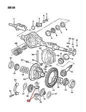 NEW Dodge OEM Rear Diff Pinion Gear 02908520 RAM VAN B D SERIES RANCHARGER