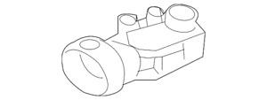 Genuine Mercedes-Benz Pressure Sensor 163-542-28-18
