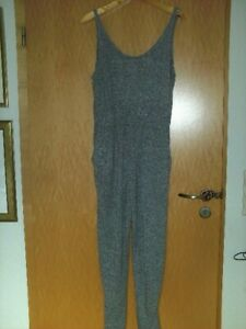 H&M Divided Jumpsuit, grau, Gr. L, sehr gut!