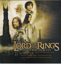 The Lord of the Rings:Two Towers-Original Movie Soundtrack-19 Track-CD
