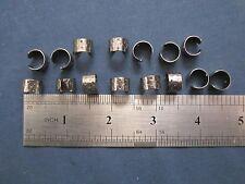 15 earring cuffs w/ stars gunmetal black ear wrap jewelry findings w/ hole 11 mm
