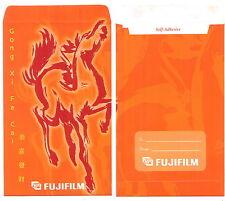 Ang pow red packet FujiFlim  1 pc horse 2002  new