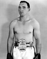 1957 Middleweight Champion GENE FULLMER Glossy 8x10 Boxing Photo Pose Print