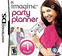 Imagine: Party Planner (Nintendo DS, 2010) BRAND NEW FACTOY SEALD