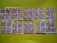 ALTI VALORI 10 QUARTNE USATE DEL 1500 LIRE 1978-1979 REPUBBLICA ITALIANA 4