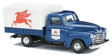 Busch # 48217 American Trucks 1950 Chevrolet Pickup - Mobil HO MIB