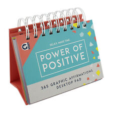 Ginger Fox Relax Make Time 365 Days Of Positive Affirmations Desk Pad