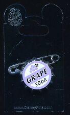 Pixar's Up Ellie Grape Soda Badge Authentic Disney Pin 79373