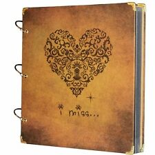 Scrapbook Art Album Decor Page Photo Memory Book Birthday Holiday Book 10.5x10""