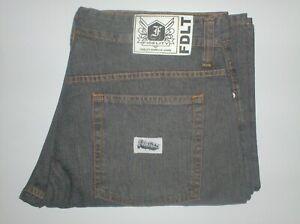 jeans baggy skateboard pants Fidelity europe - 34 dark grey gray standard wt