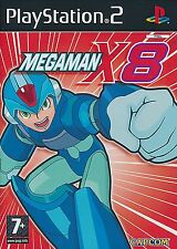 Megaman X8 For PAL PS2 (New & Sealed)
