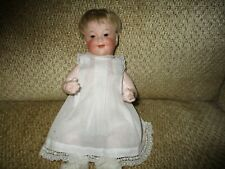 "11"" Antique German Bisque 2 Face Baby"