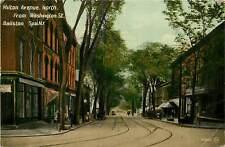 New York, NY, Balston Spa, Milton Ave North 1916 Postcard