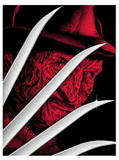 Nightmare on Elm Street Mondo Movie Poster Tobin Horror art Print Freddy Krueger