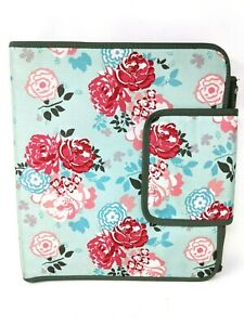 Pottery Barn Teen Garden Party Rose Floral Notebook School Organizer Binder