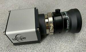 IDS UI-5480SE-M-GL Black / White Industrial Camera w  Schneider  Cinegon Lens
