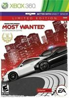 Need For Speed Most Wanted LE- Original Microsoft Xbox 360 Game