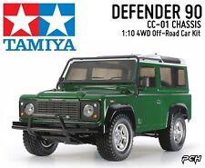 TAMIYA 1:10 LAND ROVER DEFENDER 90 CC-01 Chassis 4WD Off-Road Kit TAM58657