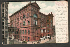 1906 post card Criminal Court Building Bridge Of Sighs NY - Harley Scott Chicago