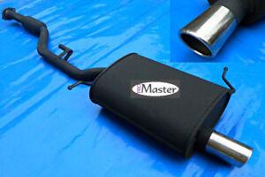 Exhaust Rear Silencer Muffler Back Box  BMW E36 318ti 316i 1.8 1.9 Compact 70mm