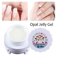 5g Opal Jelly Gel Semi-transparent Weiß Soak off Gel Polish Maniküre Harunouta