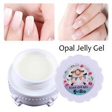 5g Opal Jelly Gel Semi-transparent Weiß Soakoff Maniküre DIY Harunouta