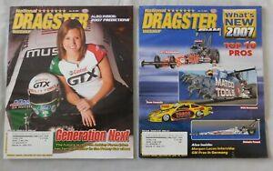 2007 National DRAGSTER Magazine Pick one NHRA