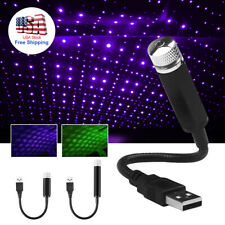 Usb Car Accessories Interior Atmosphere Star Sky Lamp Ambient Star Night Lights (Fits: Chrysler Cirrus)