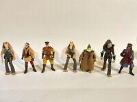 Star Wars Battle For Naboo Army builder 8 Figure Lot  1999 Episode 1