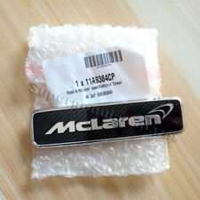 Genuine McLaren 650S 570S Carbon Fibre Front Hood Emblem Badge11A9384CP New(1PC)