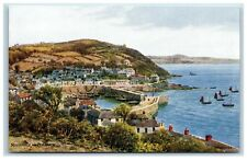 Picture Postcard Print Mousehole Cornwall