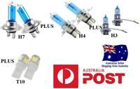 55W Xenon WHITE Headlight HI  Lo Fog Light Bulbs Ford BA BF FG XR6 XR8 G6.