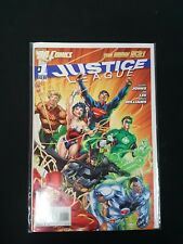 Justice League  #1 (2010) the new 52! DC Comics