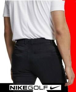 MEN'S NIKE ESSENTIAL FLEX GOLF PANTS DRI-FIT STRETCH UNHEMMED AJ6317 30 32