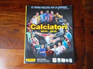 MANCOLISTA FIGURINE CALCIATORI PANINI 2014/15 2014 2015 EDICOLA