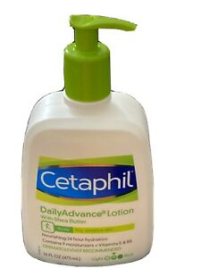 Cetaphil Daily Advance Lotion With Shea Butter 16 fl oz Sensitive Skin