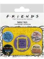 Anstecker-Paket Friends Quotes