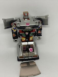 Vtg G1 Transformers Bluestreak 1982 Car Silver FairLady Hasbro