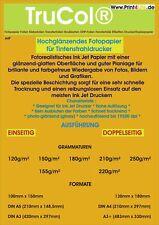100 Blatt 13x18cm 180g//m² Fotopapier Hochglänzend wasserfest von LabelHeaven
