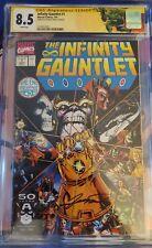 The Infinity Gauntlet #1 CGC Signature Series 8.5