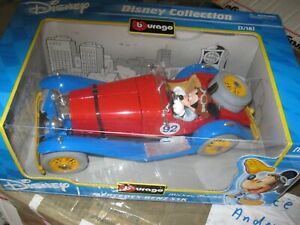 MICKEY MOUSE Disney Bburago M.BENZ SSK 1:18
