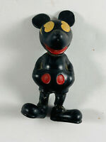Vintage Seiberling Hard Rubber Walt Disney Mickey Mouse Toy REPAIR see pics