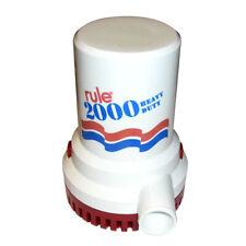 Rule 12 2000 G.P.H. Non-Automatic Bilge Pump 24V
